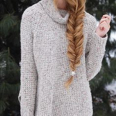 Life goal:  Be loose enough to achieve this amazing 'fluffly' fishtail