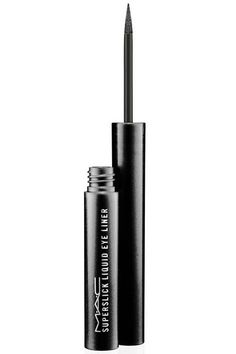 waterproof/sweatproof Eyeliner...M.A.C Superslick Liquid Eye Liner, $19.50;