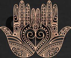 Henna as Tattoo - Hamsas on the forearms? Hamsa Design, Protection Symbols, Hamsa Tattoo, Hand Mehndi, Hand Of Fatima, Black And White Drawing, Hindu Art, Henna Patterns, Hamsa Hand