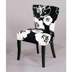 black and white dining room chairs | modern armless black and white chairs for dining