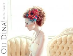 looking for the perfect fascinator for your wedding, look no further than OhDina! amaaaazing!