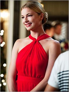 Red Dress   Emily Thorne / VanCamp in Revenge