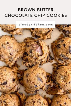 Frozen Cookie Dough, Frozen Cookies, Small Batch Baking, Butter Chocolate Chip Cookies, How To Make Cookies, Brown Butter, Cookie Recipes, Sweet Tooth, Sweet Treats