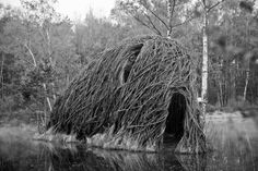 On The Grounds Of Floriade, The Willowman Lives In His Art (PHOTOS) Tucked into a thick forest amidst the grounds of Floriade, an international horticulture festival held in Holland once every 10 years, is a village of enormous nests and caves made from willow and recycled materials. Inside lives the Willowman.    A bearded recluse inspired by the architecture of nature, the Willowman, whose real name is Will Beckers, works on the village by day, and sleeps inside one of his creations by…