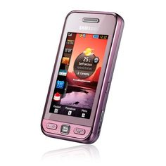 Samsung S5230 Tocco Lite Unlocked Phone with QuadBand GSM 3 MP Camera MP3Video Player and MicroSD SlotInternational Version with Warranty Pink *** Continue to the product at the image link.