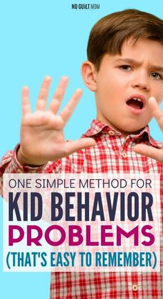 There are so many tips for kid behavior problems. How do you keep the parenting advice straight? This one method teaches a child to control anger as well as mindfulness and self-discipline. Toddler Behavior Problems, Behavior Chart Toddler, Chore Chart Kids, Toddler Discipline, Positive Discipline, Kids Behavior, Chore Charts, Parenting Books, Parenting Teens