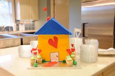 """The """"House that Love Built"""" Cake!"""