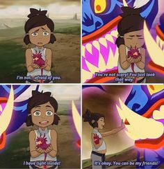 The Legend of Korra/ Avatar the Last Airbender: toddler Korra is so brave Avatar Aang, Team Avatar, Avatar The Last Airbender, Legend Of Aang, Korrasami, Avatar World, Sneak Attack, Avatar Series, Pokemon