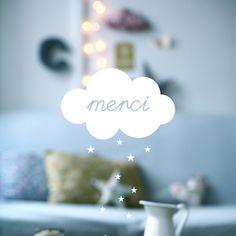 "Image of Carte postale ""NUAGE merci"" PHOTO"
