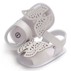 Raise Young PU Leather Butterfly Summer Baby Girl Sandals Soft Soles Non-slip Toddler Girl Shoes Newborn Infant Footwear Toddler Girl Shoes, Kid Shoes, Girls Shoes, Baby Shoes, Baby Girl Sandals, Girls Sandals, Kids Footwear, Summer Sneakers, White Casual Shoes