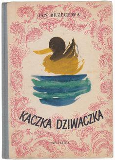'Kaczka Dziwaczka', Warszawa 1956, cover by Henryk Tomaszewski.