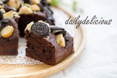 Oreo nuts Brownies: Cute and delicious