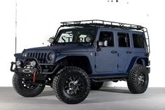 2013 Jeep Wrangler Unlimited (24S Pkg) Ferrari Blue Kevlar THE ULTIMATE!!!!!