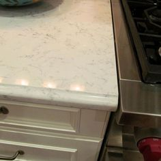 Lyra Silestone counter (Quartz in place of marble)