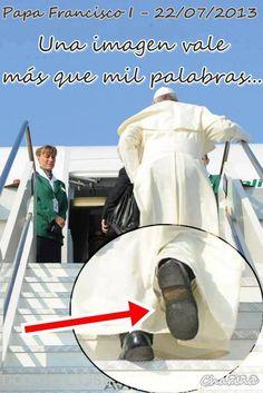 Zapatos del Papa Francisco