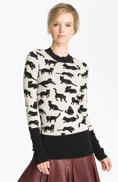 10 Crosby Derek Lam Cat Sweater available at Nordstrom