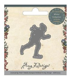 Amy Design Winter Collection Die - Ice Skater