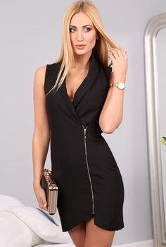 Sukienka czarna 9846
