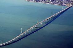 San Mateo-Hayward Bridge, San Francisco Bay - World's Longest Bridges