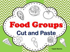 Food Groups Cut and Paste has picture sort, cut and paste on fruits, vegetables, fats, grains, dairy, minerals, proteins, carbohydrates and vitamin A, B, C, D, E and K.Great revision exercises or may be used for early finishers.