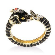 elephant cuff bracelet | Enamel Elephant #Cuff #Bracelets #Jewelry | Jewelry
