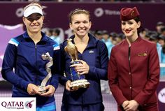 Watch the semi-finals and finals of the Qatar TOTAL Open 2015 in Doha with Qatar Airways.