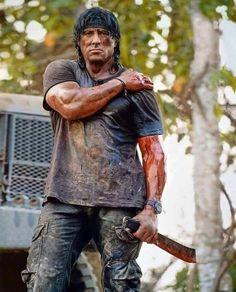 Sylvester Stallone as Rambo Rambo 4, John Rambo, Action Movie Stars, Action Movies, Rocky Stallone, Rocky Balboa Poster, Sylvester Stallone Rambo, Silvester Stallone, Cinema