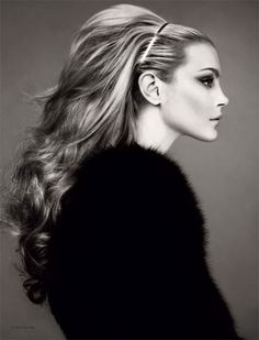 Jessica Stam... love the hair, the makeup and the lighting...