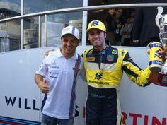 Felipe Massa and Felipe Nasr