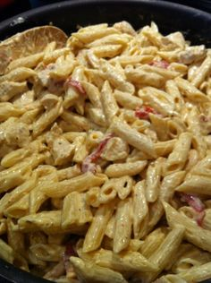 Cream Cheese Chicken Pasta – Recipe