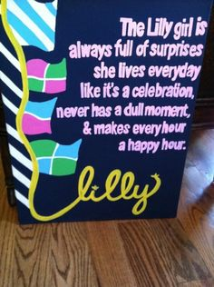 A Lilly girl :)