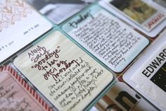 I like how Ali Edwards uses different handwriting elements to call attention to her journaling.