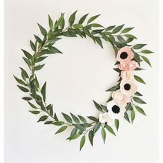 Wreath  Wreaths  Flower Wreath  Spring Wreath  by alisonmichel