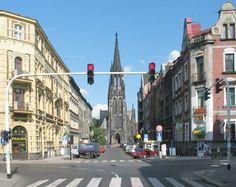 pastsilesia: Mariacka / Francuska (Katowice, 2003 r.)