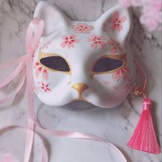 Japanese Fox Hand-painted Cosplay Mask A cool cosplay Japanese style anime fox mask, painted with high quality dye. Great for Halloween, Cosplay, performances! Cosplay Outfits, Anime Outfits, Mode Outfits, Japanese Fox Mask, Kitsune Mask, Mode Chanel, Kawaii Accessories, Cool Masks, Kawaii Clothes
