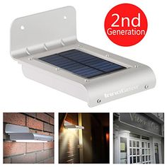 InnoGear® 16 LED Super Bright Waterproof Solar Powered Light Motion Sensor Outdoor Garden Patio Path Wall Mount Gutter Fence Security Lamp Light InnoGear http://www.amazon.com/dp/B00J5C9F0K/ref=cm_sw_r_pi_dp_yLbgvb1N7CT65