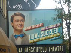 Daniel Radcliffe on Broadway - Fantastic show! So glad I got to see it. Dan was fantastic!!!