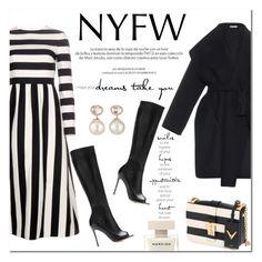 """NYWF"" by stellaasteria ❤ liked on Polyvore featuring Bottega Veneta, Valentino, Louis Vuitton, Gianvito Rossi, Samira 13, valentino, GianvitoRossi and nyfwafterparty"