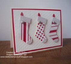 LaLatty Stamp 'N Stuff: Christmas Cards