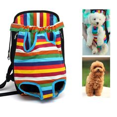 Dog Carrier Backpack Sling Bag Chest Pack Dog Carrier Legs Out Front Style Pets Accessories Comfort Travel Dog Backpack Carrier