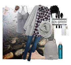"""Bon appetit"" by candycandy150 ❤ liked on Polyvore featuring Rituals, prAna, Michael Kors, WALL, Calvin Klein, Pieces, Rails, Giuseppe Zanotti and Halogen"
