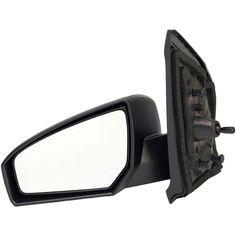 Side Mirror for 07-12 SENTRA B16 Power Driver Left Black