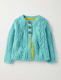 Cable Cardigan | Boden