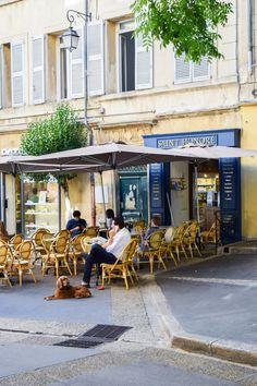 Café Saint Honoré in Aix-en-Provence | https://culturepassport.co/2016/magical-aix-en-provence/ #aixenprovence #france