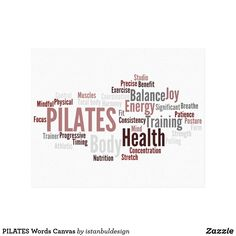 PILATES Words Canvas Cherished Memories, Vacation Pictures, Total Body, Pilates, Keep It Cleaner, Family Photos, Meditation, Wellness, Yoga
