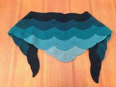 That's pretty  Ravelry: Kimberly7090's Aranami shawl