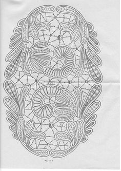 Bobbin Lace Patterns, Crochet Doily Patterns, Thread Crochet, Crochet Motif, Crochet Lace, Knitting Patterns, Doilies Crochet, Russian Crochet, Irish Crochet