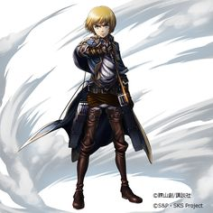 "Hangeki no Tsubasa's""Relentless, Matchless Duo"": Armin"