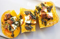 Obsessed with this easy and seriously impressive veggie dish! Healthy Family Meals, Healthy Snacks, Real Food Recipes, Vegetarian Recipes, Delicious Desserts, Yummy Food, Pumpkin Seed Recipes, Roasted Butternut, Butternut Squash