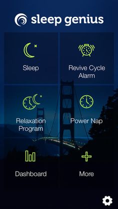 "Sleep Genius uses special musical patterns that include what's called ""pink noise"" and binaural beats — nearly identical beats heard in each ear at the same time — that can help induce sleep."